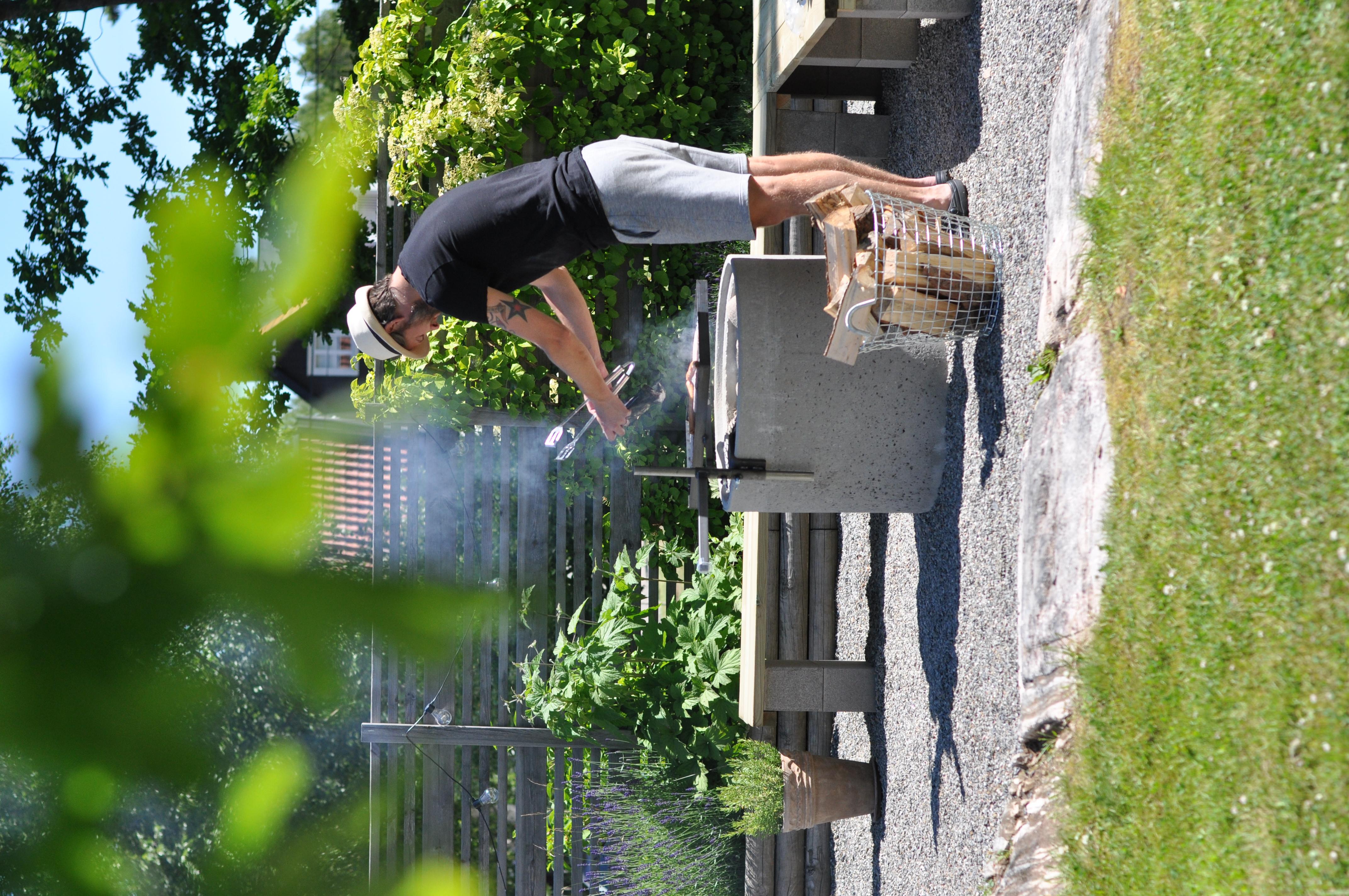 Picture of: Grillplats Med Betongror Homespo
